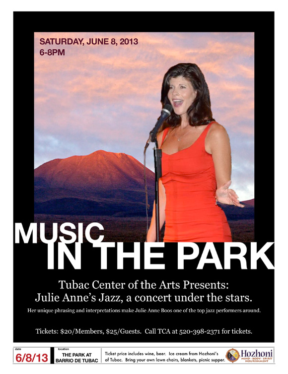 Julie Anne's Jazz @ Park at Barrio de Tubac | Tubac | Arizona | United States