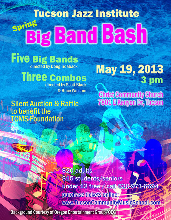 Tucson Jazz Institute Spring Big Band Bash &amp; Auction @ Christ Community Church | Tucson | Arizona | United States