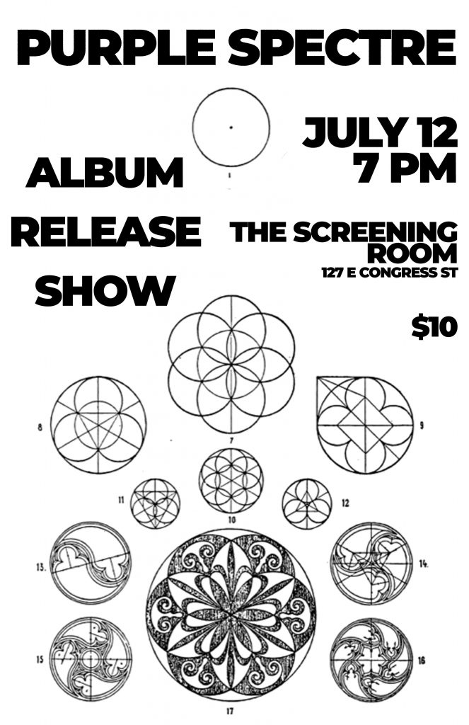 Purple Spectre - Album Release Party @ The Screening Room